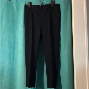 NWT Van Heusen Navy Blue Textured Pant